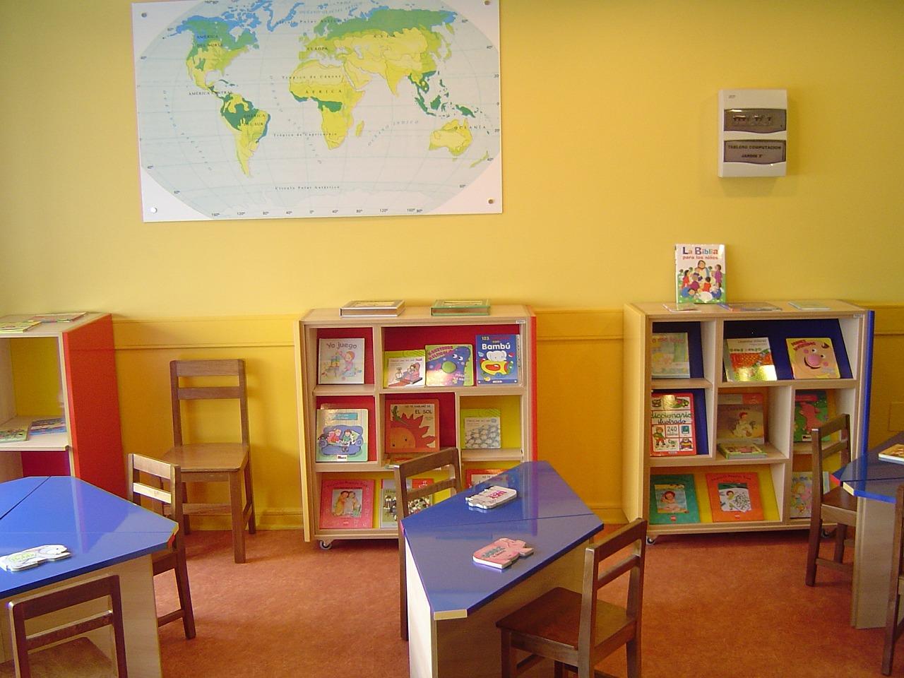 Limpieza de colegios y guarderías